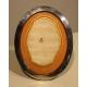 Cadre à photo ovale en argent MAPPIN & WEBB