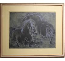 """Lithographie """"Chavaux"""" par ERNI 69/200"""