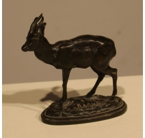 Kevel en bronze signé BARYE, F. BARBEDIENNE