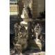 Fontaine de milieu Lions en pierre de Vicenza