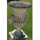 "Urne ""Tête de bélier"" en pierre de Vicenza"