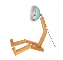 Lampe Mega Mr. Wattson Vert Tiffany