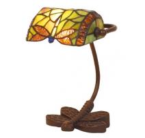 Lampe de bureau style Tiffany Libellule