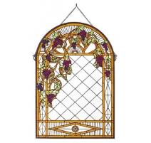 Panneau décoratif style Tiffany, Raisins