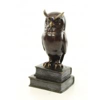 Bronze hibou sage
