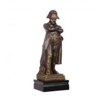 "Statue ""Napoléon"" en fonte coloris bronze"