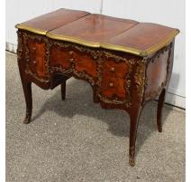 Poudreuse style Louis XV à 4 tiroirs