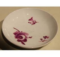 Sous-tasse en porcelaine de Meissen