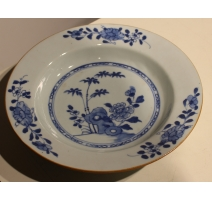 Assiette creuse en porcelaine chinoise