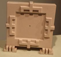 Pendule de la poterie du léman en céramique