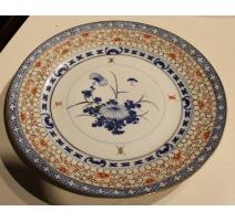 Assiette en porcelaine chinoise