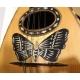Mandoline décor papillon