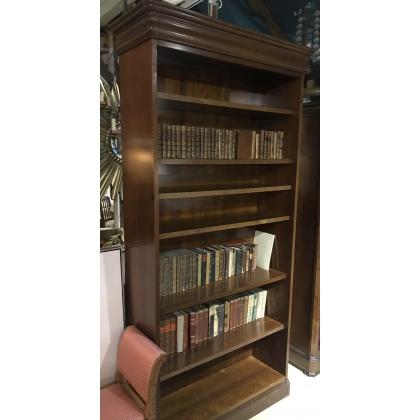 Bibliothèque style Louis-Philippe en merisier