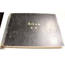 Album C.A. de photographies, gravures et dessins