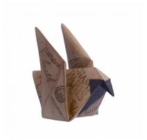 Origami Oiseau en résine