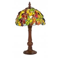Lampe style Tiffany, décor gouttes