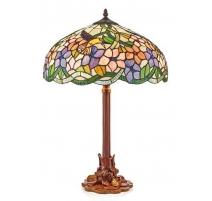 Lampe style Tiffany, décor Colibri