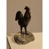 Coq en bronze, signé REUSSNER