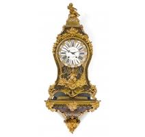 Pendule Louis XV Boulle signée BUNON à Paris