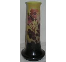 Vase tubulaire de GALLE.