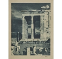 """Photographie """"Temple en Grèce"""" signée BOISSONNAS"""