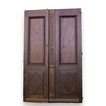 Paire de portes Directoire.