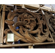 """Panneau Art Deco """"Rosace"""""""