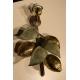 Applique Citrons en bronze vert et doré