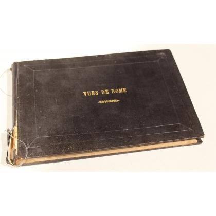 "Livre ""Vues de Rome"" 1845"