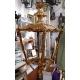 Lanterne carrée style Louis XV en bronze