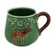 """Mug décor animaux de chasse """"Cerf"""""""