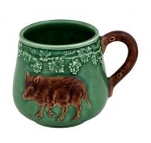 """Mug décor animaux de chasse """"Sanglier"""""""