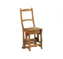 Chaise-escabeau en chêne