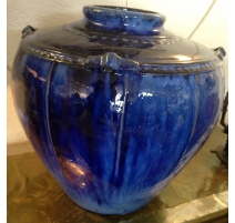 Vase ball, blue colour.