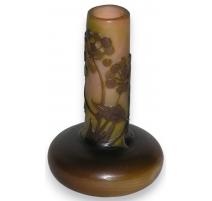Vase soliflore de GALLÉ.