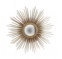 Miroir soleil signé Chaty Vallauris A.M.