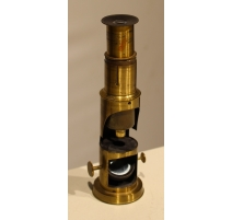 Microscope de voyage en laiton
