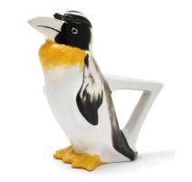 """Pichet """"Pingouin """" noir et jaune signé SANDOZ"""