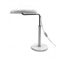 Lampe blanche par Alfred Müller pour Bag Turgi