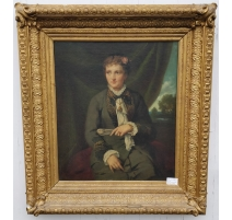 Portrait of a Lady, gilt frame