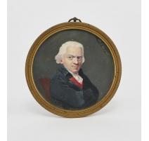 """Miniature """"Portrait d'homme au col rouge"""""""