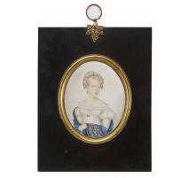 """Miniature """"Princesse Caroline de Danemark"""""""