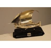 Maquette de bateau en argent 917 Malte 1935