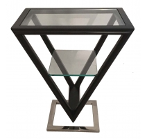 Table d'appoint Iso coloris Noir