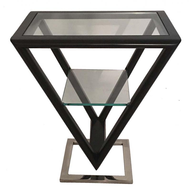 Table d'appoint Iso coloris Noir