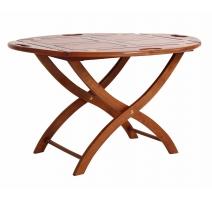Table plateau buttler-tray teinte noyer