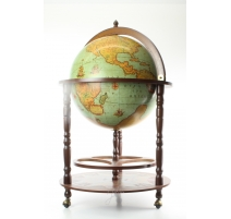 "Globe-bar ""CALIPSO LAGUNA"" en bois"