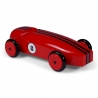 Modèle de voiture en bois, Rouge