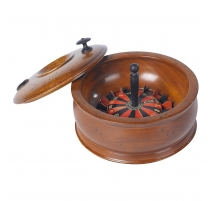 Roulette de voyage en bois