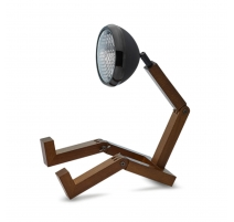 Lampe Mr. Wattson Noir mat